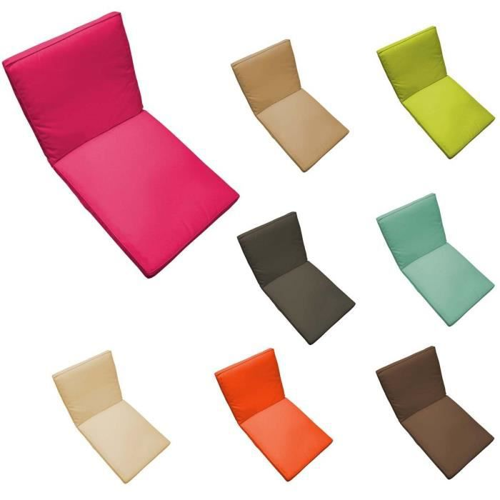 Coussin fauteuil salon de jardin 90 x 42 cm sp achat - Coussin fauteuil exterieur ...