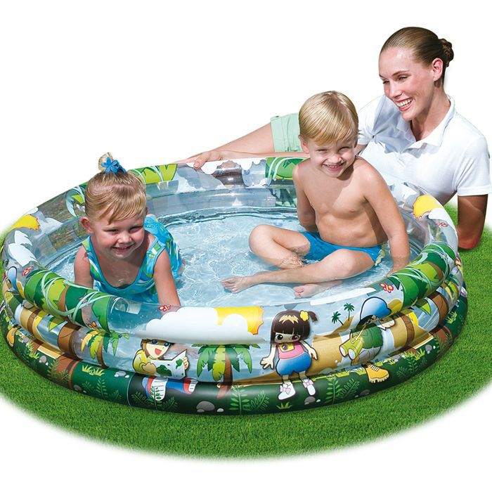 Piscine gonflable 122x25 cm achat vente piscine for Piscine gonflable bestway