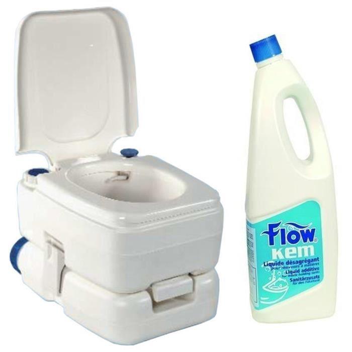 Pack wc chimique bipot 30 2 litres de liquide wc achat for Toilette chimique pour maison