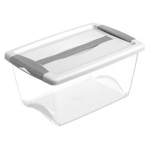 boite rangement plastique achat vente boite de. Black Bedroom Furniture Sets. Home Design Ideas