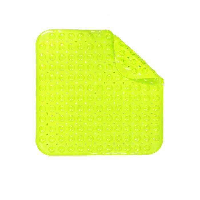 tapis de douche vert anis achat vente tapis de bain cdiscount. Black Bedroom Furniture Sets. Home Design Ideas