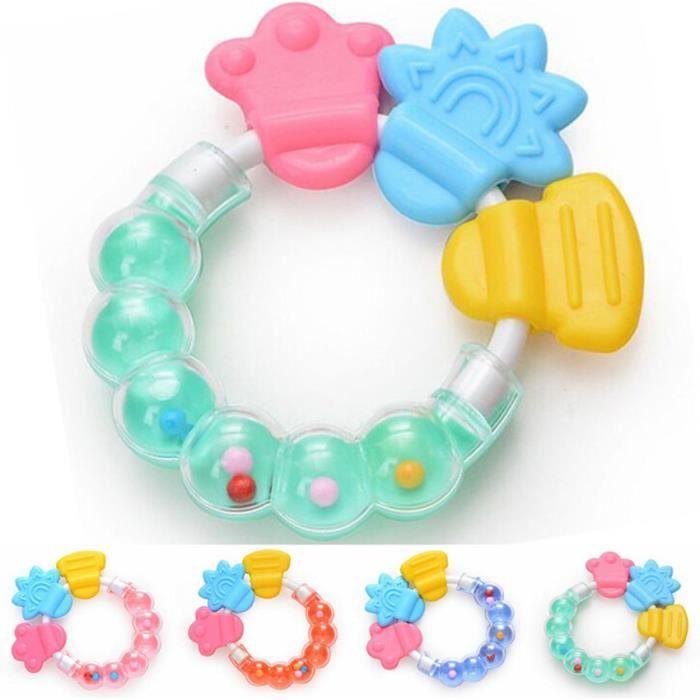 anneau de dentition b b jouets kid jouet anneau de dentition pour b b hochets pour b b s. Black Bedroom Furniture Sets. Home Design Ideas