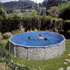 Piscine hors sol diametre 5 5 m achat vente piscine for Piscine hors sol 3 metre diametre