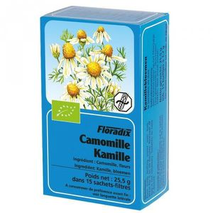 INFUSION Tisane Camomille matricaire Bio - 15 sachets