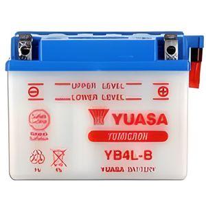 BATTERIE VÉHICULE YUASA - Batterie moto YB4L-B L 121mm W 71mm H 93mm