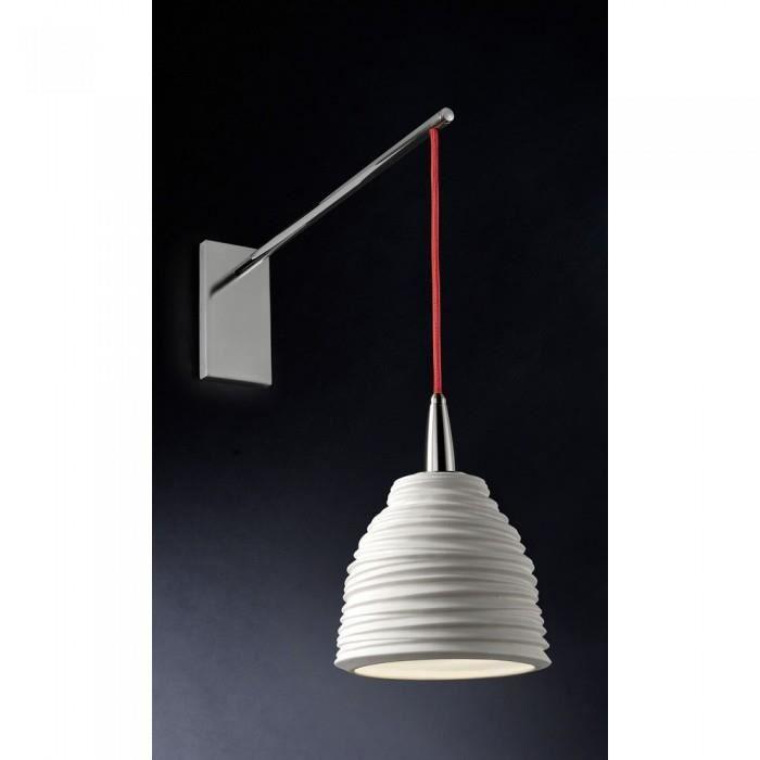 Applique design blanche porcelain atylia couleu achat vente cette lampe - Applique porcelaine blanche ...