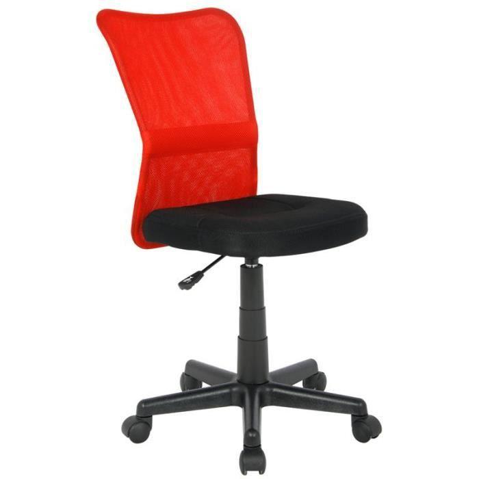 Chaise de bureau red achat vente chaise de bureau rouge cdiscount - Chaise de bureau cdiscount ...