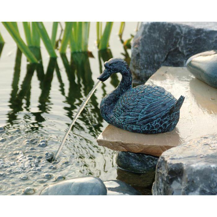 Petit cygne pour d coration de bassin de jardin achat vente bassin d 39 ext rieur petit cygne for Bassin de jardin d occasion