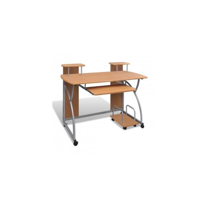 table de bureau brune pour achat vente bureau table