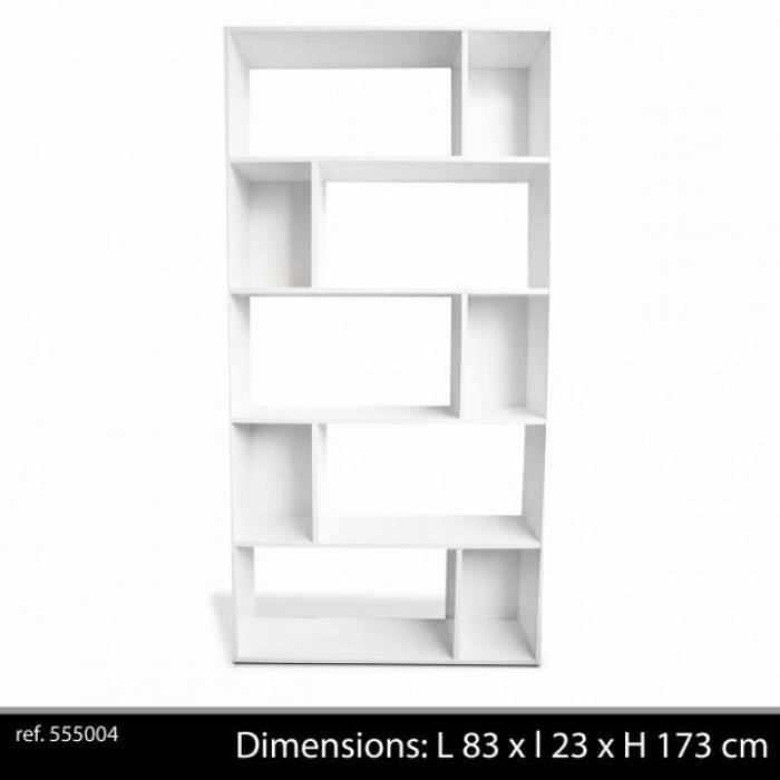 etagere bibliotheque blanche. Black Bedroom Furniture Sets. Home Design Ideas
