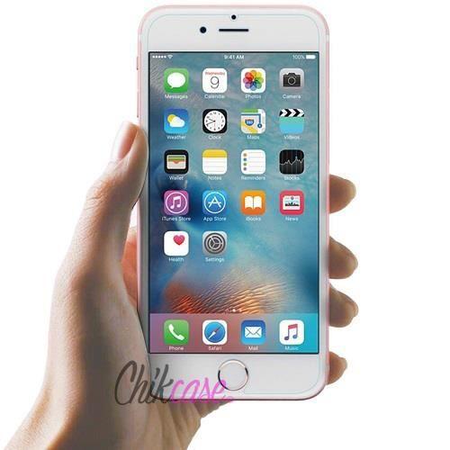 vitre en verre tremp transparente pour le nouveau iphone 6s achat film protect t l phone. Black Bedroom Furniture Sets. Home Design Ideas