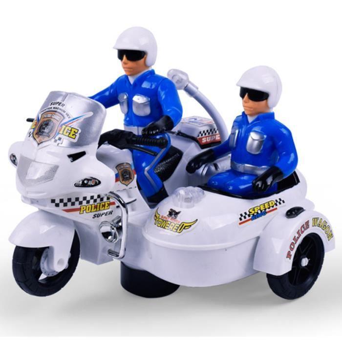 mcsays voiture de police jouet voiture avec lumi re et musique achat vente voiture enfant. Black Bedroom Furniture Sets. Home Design Ideas