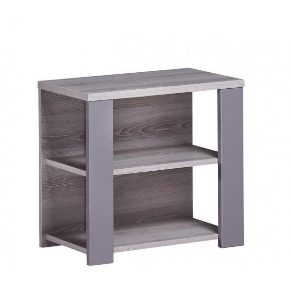 sauthon on line table de chevet marron achat vente petit rangement 3500760053041 cdiscount. Black Bedroom Furniture Sets. Home Design Ideas