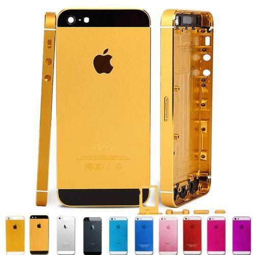 chassis complet coque arri re gold et noir iphone 5 tournevis achat pi ce t l phone pas cher. Black Bedroom Furniture Sets. Home Design Ideas