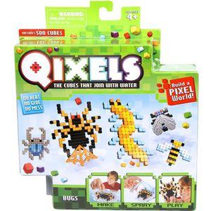 Mini kit 4 créations Qixels (Th?me Insectes)