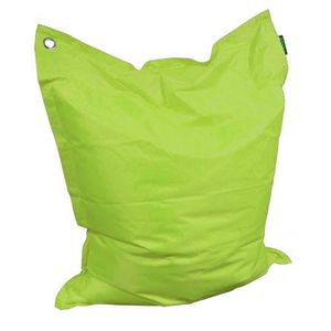 COUSSIN Grand coussin uni Maxi Anis