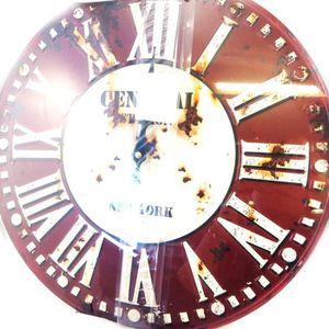 Horloge murale vintage 40 cm achat vente horloge murale vintage 40 cm pas cher soldes for Horloge murale 40 cm