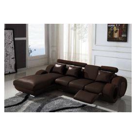 Canap d 39 angle avec m ridienne achat vente canap sofa divan cuir - Canape angle avec meridienne ...