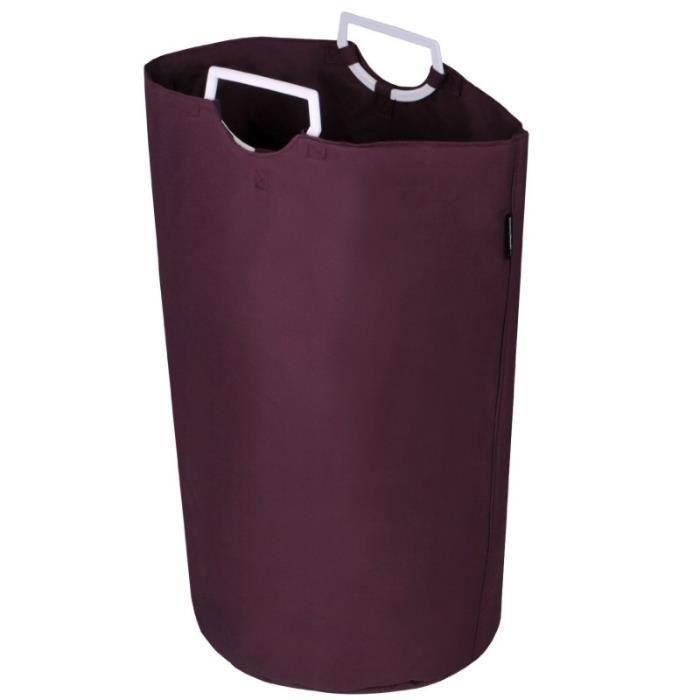 panier corbeille coffre linge rangement vetement bain douche 60 litres 2001046 achat vente. Black Bedroom Furniture Sets. Home Design Ideas