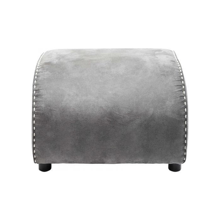 repose pied ritmo vintage gris kare design achat vente repose pieds cdiscount. Black Bedroom Furniture Sets. Home Design Ideas
