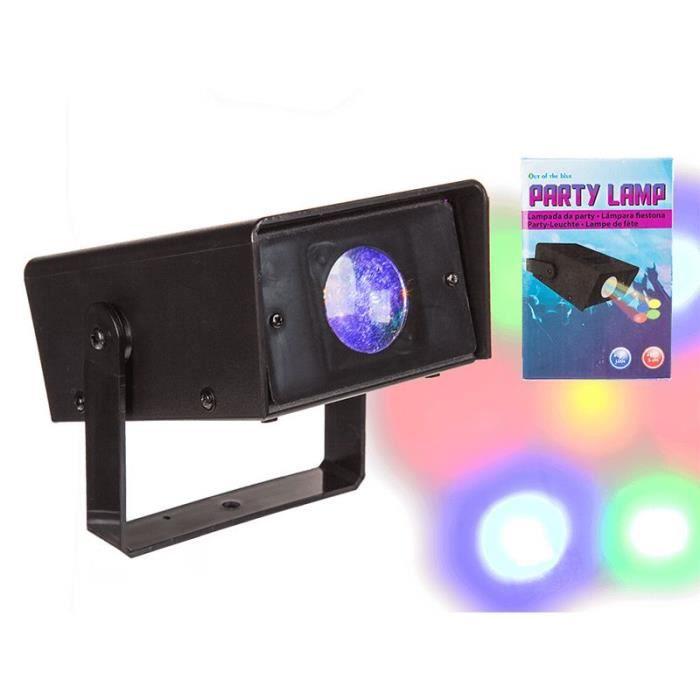 spot projecteur led 7 couleurs pile 15 cm achat. Black Bedroom Furniture Sets. Home Design Ideas