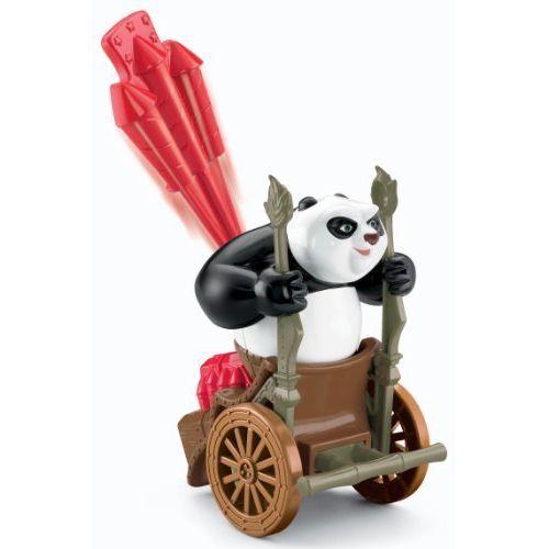 figurine kung fu panda le pousse pousse de p achat vente figurine personnage cdiscount. Black Bedroom Furniture Sets. Home Design Ideas