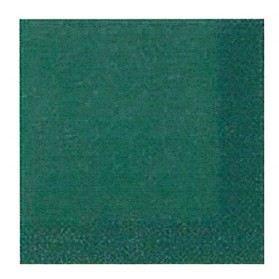 Serviette 33x33 cm 3 plis x20 uni vert fonc achat vente linge de table jetable - Serviette en papier vert fonce ...