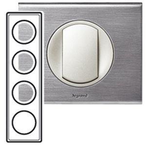 interrupteur inox bross trouvez le meilleur prix sur voir avant achat. Black Bedroom Furniture Sets. Home Design Ideas