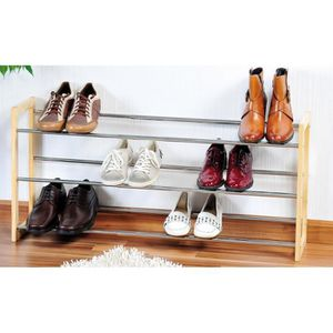 etagere a chaussures extensible achat vente etagere a chaussures extensible pas cher cdiscount. Black Bedroom Furniture Sets. Home Design Ideas