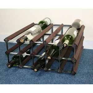 Meuble a vin achat vente meuble a vin pas cher cdiscount for Meuble porte bouteille vin