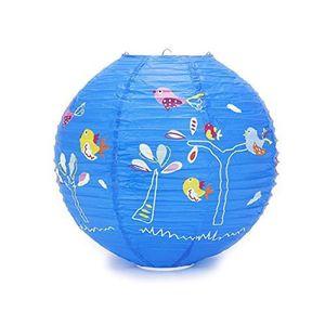 Boule japonaise plafond bleu enfant deco oiseaux achat vente boule japona - Boule japonaise enfant ...