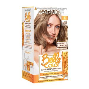 coloration garnier belle color coloration 04 blond cendr - Belle Color Blond Cendr