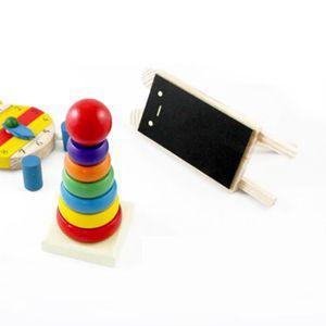 TABLE JOUET D'ACTIVITÉ Enfant Bébé Stack Up Nest arc Tower Anneau Toy Edu