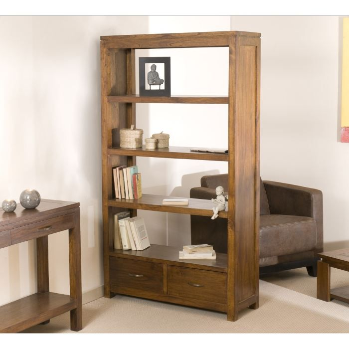 madrid meuble tag re 100 cm tabac achat vente meuble. Black Bedroom Furniture Sets. Home Design Ideas