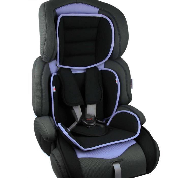 Si ge auto pour enfants de groupe 1 2 3 violet achat for Siege auto pour enfant