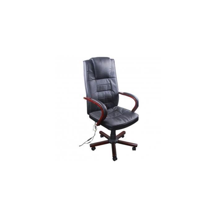 Fauteuil de bureau massant en achat vente chaise de bureau noir cdiscount - Fauteuil bureau massant ...