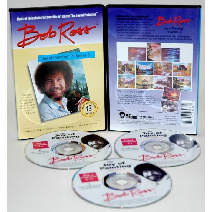 montagne collection dvd avec bob ross en dvd documentaire pas cher cdiscount. Black Bedroom Furniture Sets. Home Design Ideas