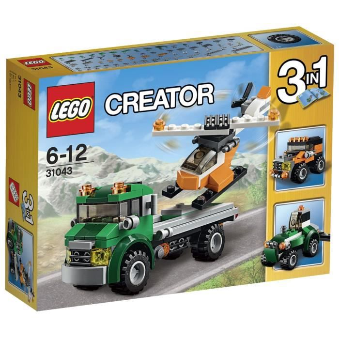 legos helicopter with F 1202810 Lego31043 on Lego runway as well 261219058755 furthermore 4 More Lego Creator 3 In1 Vehicle Sets besides Ducktales Lego Ideas additionally Theme Dino 2010.