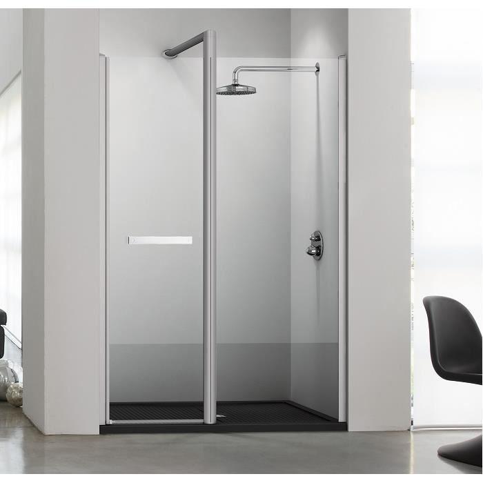 Paroi douche en niche sun 5 160 cm droite achat vente douche receveur p - Paroi douche discount ...