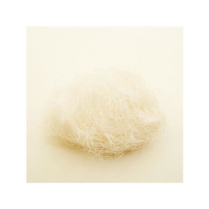 Sisal pour d coration blanc achat vente sisal sisal for Cdiscount decoration