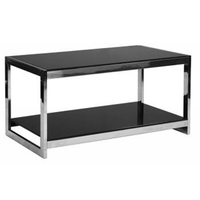 table basse en verre 2 niveaux. Black Bedroom Furniture Sets. Home Design Ideas