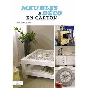 livre meuble en carton achat vente livre meuble en carton pas cher cdiscount. Black Bedroom Furniture Sets. Home Design Ideas