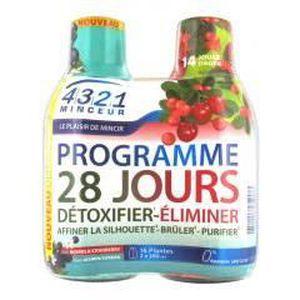 SOIN MINCEUR - DRAINAGE Arkopharma 4321 Minceur Programme 28 Jours Acérola