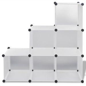 meuble chaussure 6 etageres achat vente meuble chaussure 6 etageres pas cher cdiscount. Black Bedroom Furniture Sets. Home Design Ideas