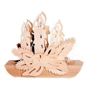 Couronne en bois a decorer achat vente couronne en for Couronne de noel bois flotte