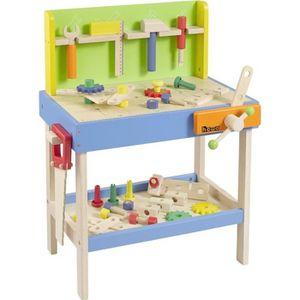 etabli en bois pour enfants achat vente jeux et jouets. Black Bedroom Furniture Sets. Home Design Ideas
