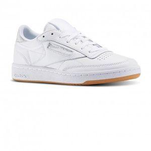 BASKET Chaussures Club C85 Diamond White/Gum e17 - Reebok