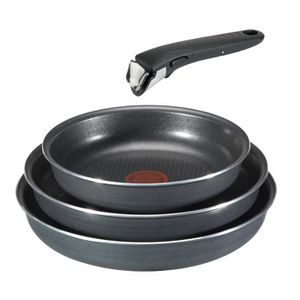 POÊLE - SAUTEUSE Batterie de cuisine set 4 pieces