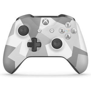 MANETTE CONSOLE Manette Xbox Sans Fil Edition Spéciale Winter Forc