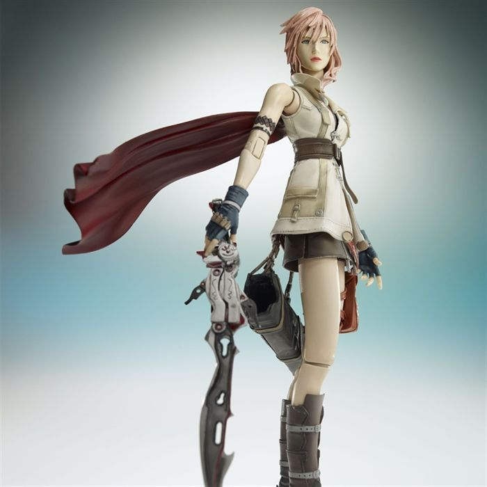 FIGURINE - PERSONNAGE Lightning Final Fantasy XIII
